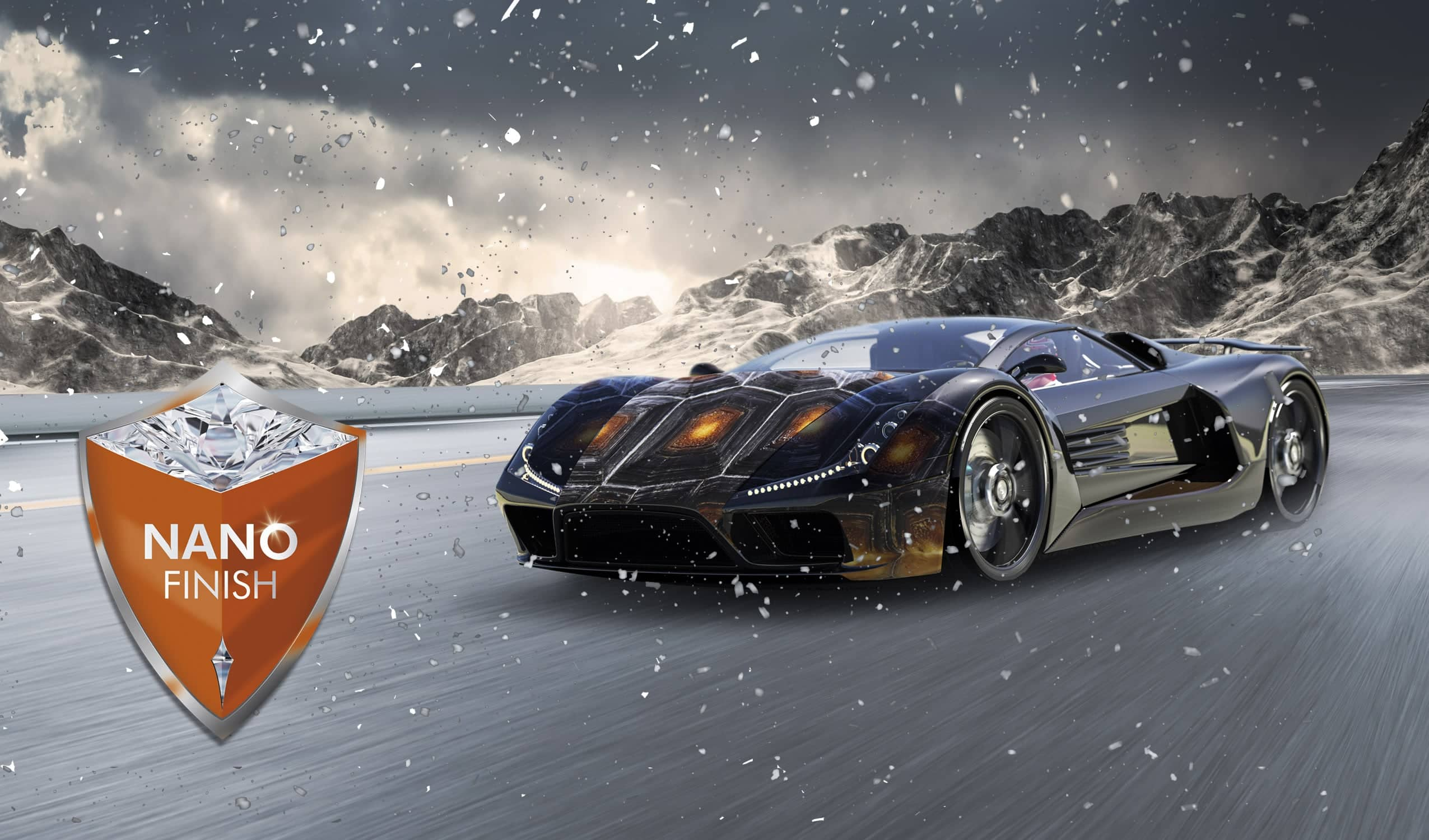 CHRIST NANO FINISH - gloss sealing and paint protection for every season of the year