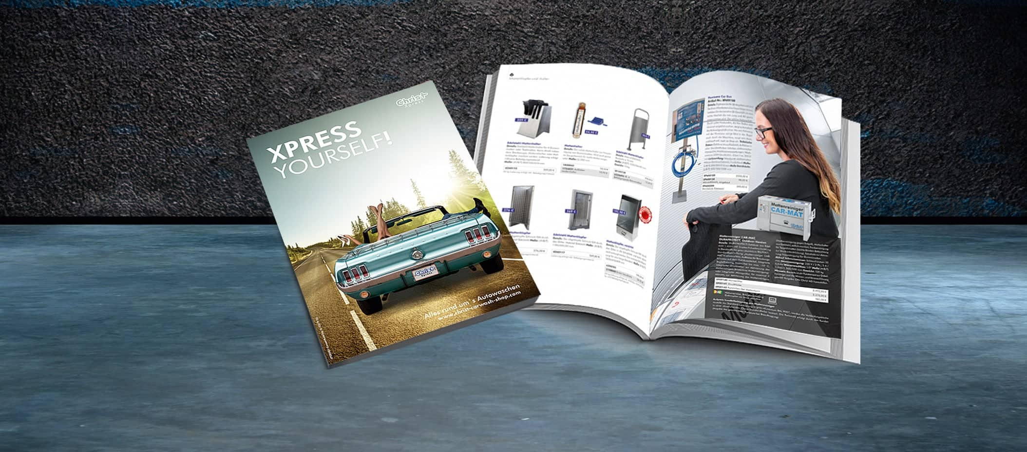Order your new Xpress catalogue 2020