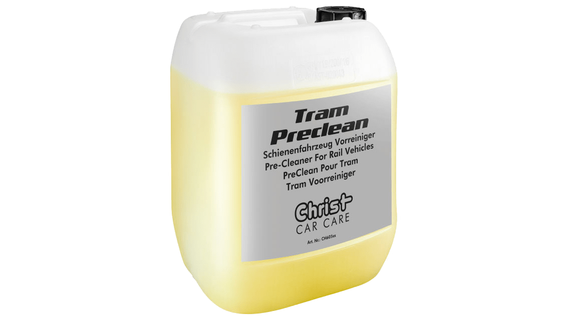 Pre-Cleaner For Rail Vehicles