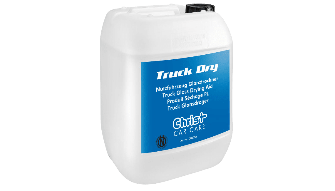 Truck Gloss Drying Aid