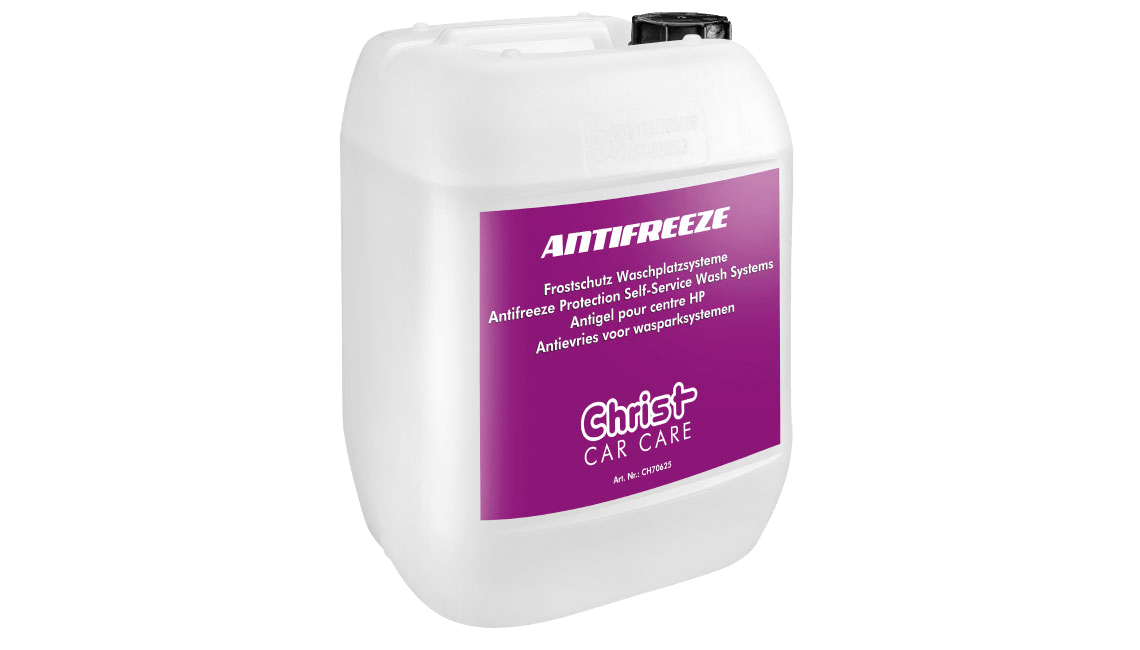 Antifreeze Protection Self-Service Wash Systems
