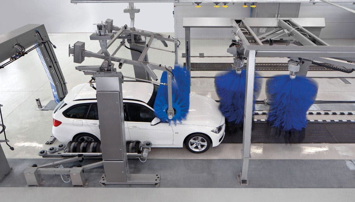 Roof cylinder system KINEMATIC, free-standing