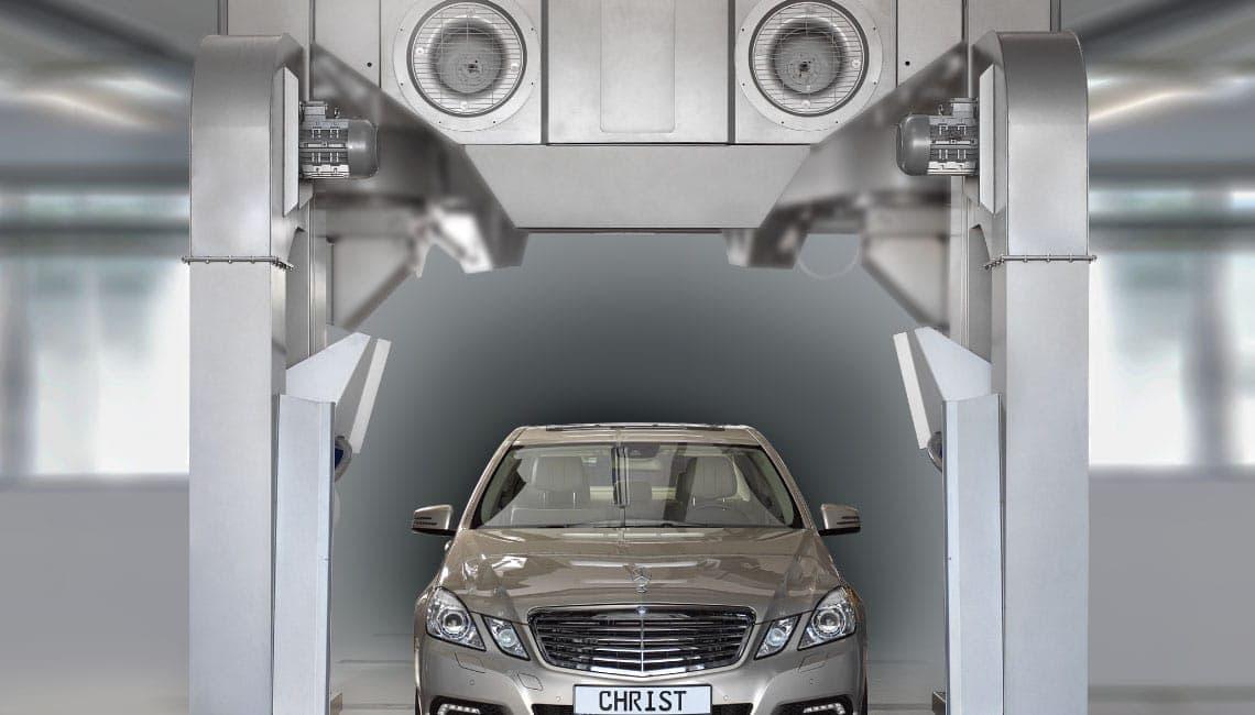 Christ Trocknungszone 3 Spalatorie automata tip tunel   DRYING ZONE   Christ - Unilift Spalatorie automata tip tunel