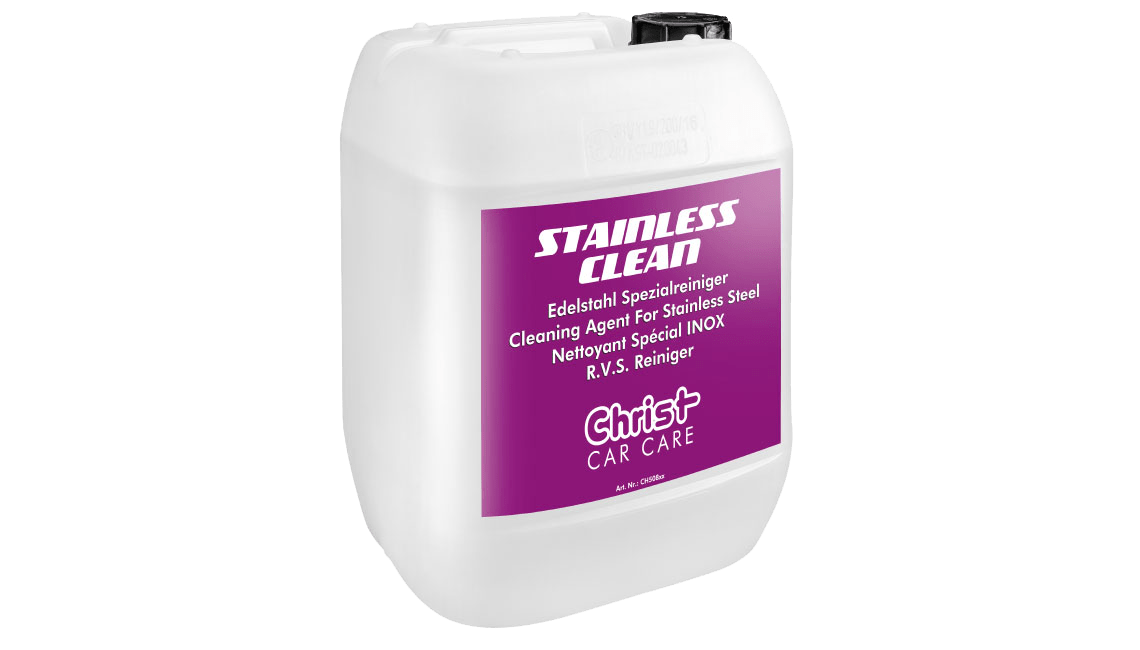Cleaning Agent For Stainless Steel